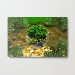 Environmental Protection Nature Metal Print