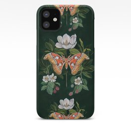 Atlas Moth Magnolia iPhone Case