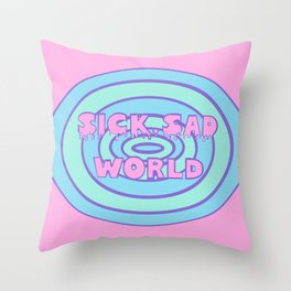 Sick Sad World Daria Favorite Documentary in Pastel Throw Pillow