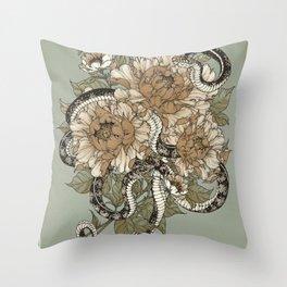 Charnel Lodger III Throw Pillow