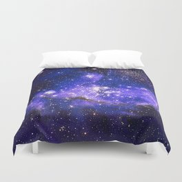 Infant Stars in Neighbouring Galaxy Duvet Cover