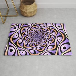 Do Not Roll Your Eyes At Me Rug