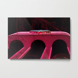 Light vs. Dark Metal Print