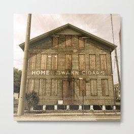 Historic Ybor Building Metal Print