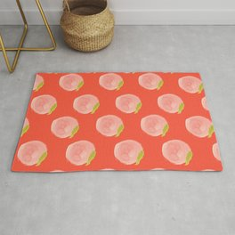 You're a Peach Watercolor Painting Rug