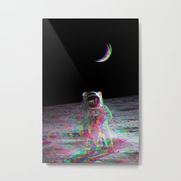 COLORFUL MOONS Metal Print