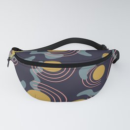Sun and Waves Fanny Pack