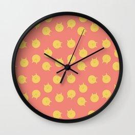 Armin futon pattern Wall Clock