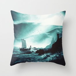 The Northern Tide Throw Pillow