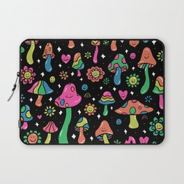 Rainbow Mushrooms Laptop Sleeve