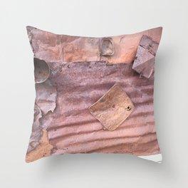 Metal memories Throw Pillow