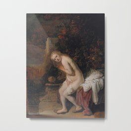 Susanna and the Elders Metal Print