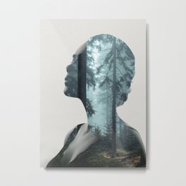 Silence of the Nature Metal Print