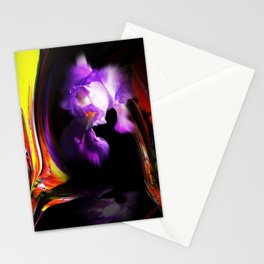 Abstract pefection -Lily Stationery Cards