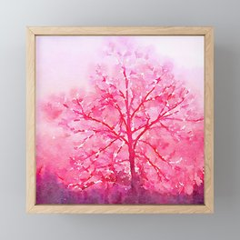 Winter Trees Framed Mini Art Print