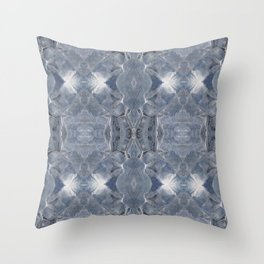 Carrowkeel blue Throw Pillow