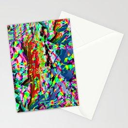 Glitch Digital Experimentalism Stationery Cards