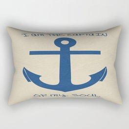 I am the Captain Rectangular Pillow