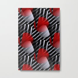 fine pattern for your homeproducts -550- Metal Print