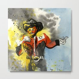 Big Tex Metal Print