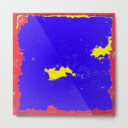 Map of the lost land at the edge of the continent?. Metal Print