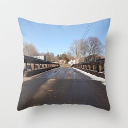 A road to somewhere Throw Pillow