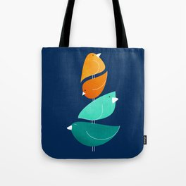 Bird Stack III Tote Bag