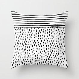 Rainy Day Vibes Throw Pillow