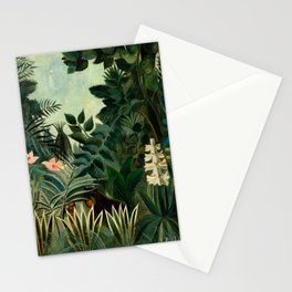 The Equatorial Jungle - Henri Rousseau Stationery Cards