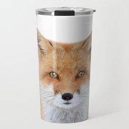 Fox Art Travel Mug