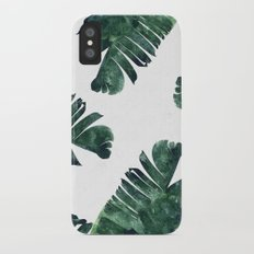 Banana Leaf Watercolor #society6 #buy #decor iPhone X Slim Case
