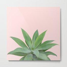 Blush Agave Vibes #1 #tropical #decor #art #society6 Metal Print