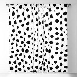 Black And White Cheetah Print Blackout Curtain