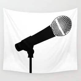 Microphone Wall Tapestry