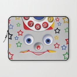 Classic Retro vintage Smiley Toys Dial Phone Laptop Sleeve