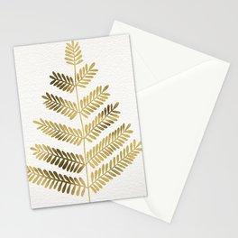 Gold Leaflets Stationery Cards