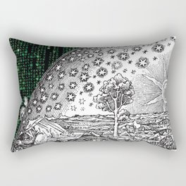 Matrix Flammarion THE ANSWER IS OUT THERE Rectangular Pillow