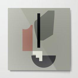 Shape study #34 - Lola Collection 2019 Metal Print