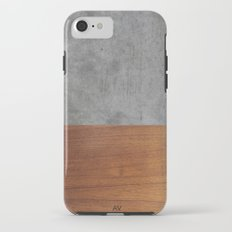 Concrete and Wood Luxury iPhone 7 Tough Case