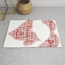 Dog and Cat Rug