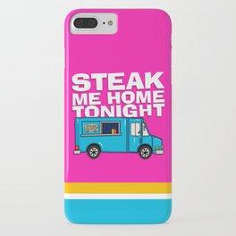 Steak Me Home Tonight (HE104) iPhone Case