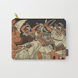 The Harpies Mythology Scene Carry-All Pouch