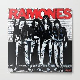 Ramones   Pop Art Metal Print