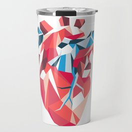 Poligon Heart Travel Mug