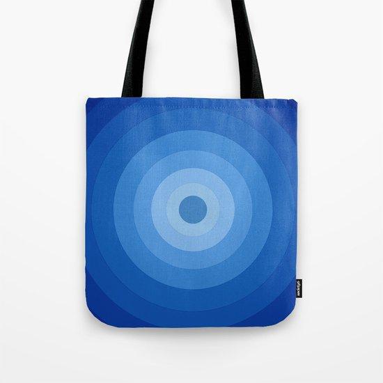 Blue Retro Bullseye by jakelevin