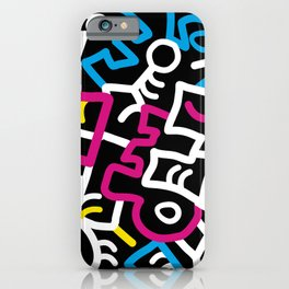 Mazed and Confused iPhone Case