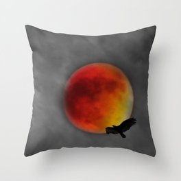 Blood Bird 9/27 Throw Pillow