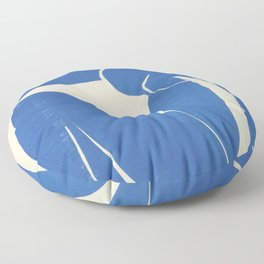 Blue Nude by Henri Matisse  Floor Pillow