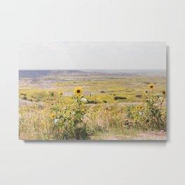 Wildflowers Everywhere Metal Print