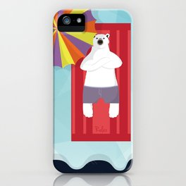 Polar Relax iPhone Case